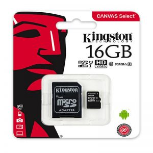 Memoria SD Kingston 16GB