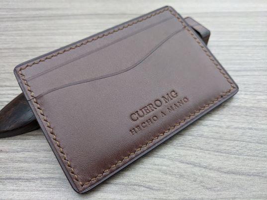 Tarjetero Chocolate 1