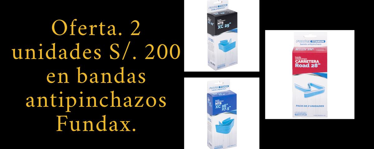 Oferta bandas antipinchazos Fundax